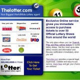 The Lotter – Buy A Lottery Ticket Online